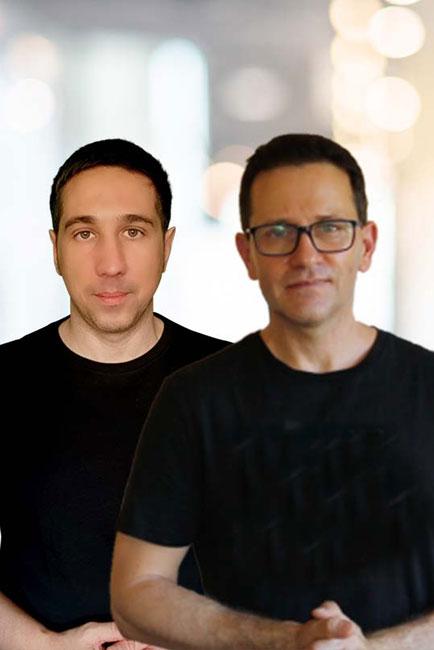 David Seffer und Thomas Guttleber